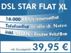 DSL Star Flat XL